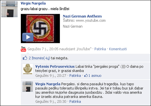 Virgis_Nargela_nazi_anthem