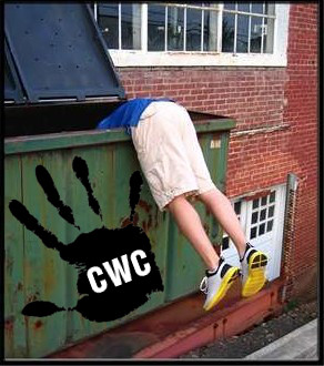 cwc crimethinc dumpster